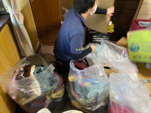 京都市の生前整理、生活保護受給者の家財整理を行いました。
