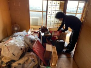 京都市の残置物処分を行いました