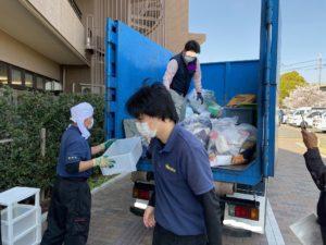 城陽市の家財整理にお伺いしました。家のゴミは一般廃棄物運搬業者に委託するのがルールです。