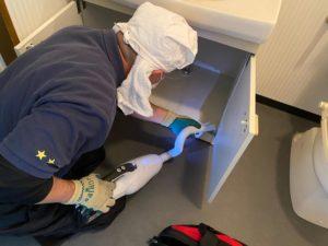 城陽市の家財整理も無事に終わりました。軽清掃はサービスです。